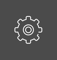 gear icon sign symbol vector image