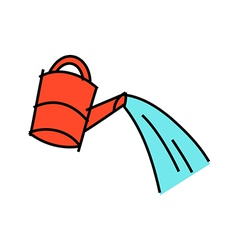Icon watering can vector