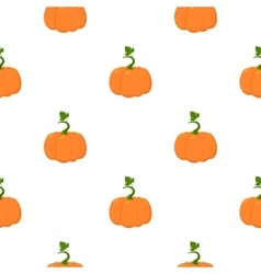 Pumpkin icon cartoon Single plant icon from the vector