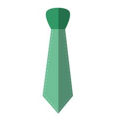 Tie accessory fashion vector