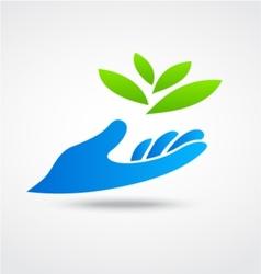 Environmental logo vector