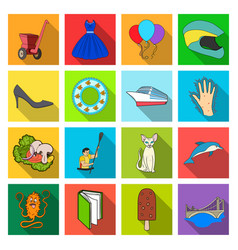 Holiday textiles industry and other web icon in vector