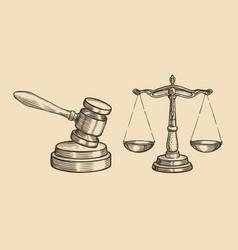 Justice sketch jurisdiction business concept vector