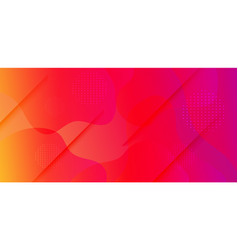 Liquid colorful geometric background rainbow 3d vector