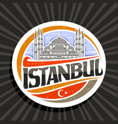 Logo for istanbul vector