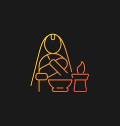 Nwaran gradient icon for dark theme vector