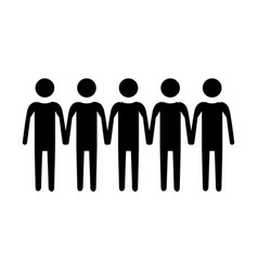pictogram people icon vector image