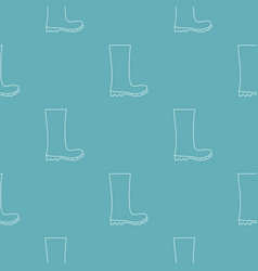 rubber boots pattern seamless vector image