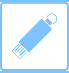 usb flash icon vector image