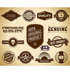 Vintage labels Collection 15 vector image