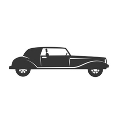 car vehicle transport icon vector image vector image