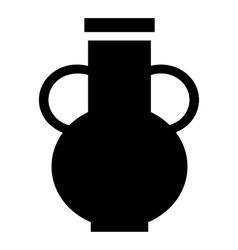 Pitcher icon simple style vector image vector image