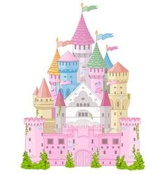 Fairy Tale Castle vector image vector image