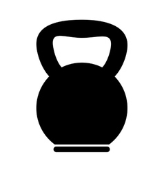 weight lifting gym equipment vector image