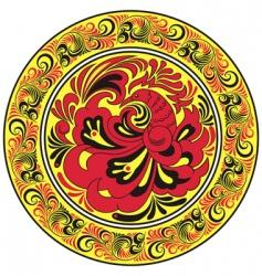 circular pattern vector image vector image