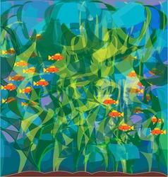 algae Laminaria vector image