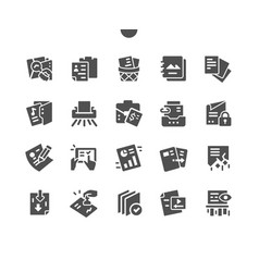 Documents well-crafted pixel perfect vector