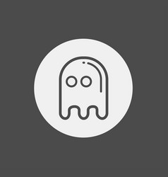ghost icon sign symbol vector image