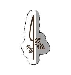 Isolated knife desggin vector