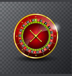 on a casino theme with vector image vector image
