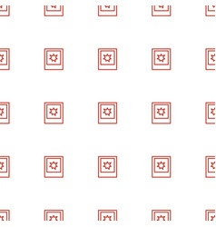 photo icon pattern seamless white background vector image