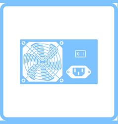 Power unit icon vector