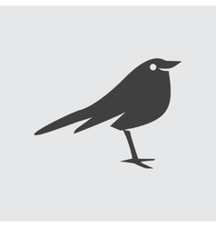 Thrush icon vector