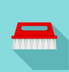 wash brush icon flat style vector image