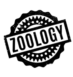 Zoology rubber stamp vector