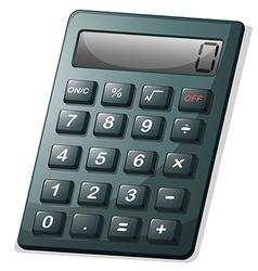 A calculator vector image vector image