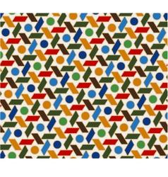 seamless islamic geometric pattern vector image vector image