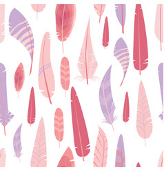 seamless pattern with different graphic vector image vector image