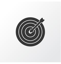 darts icon symbol premium quality isolated aim vector image