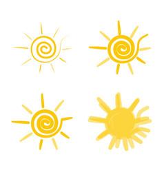 hypno sun vector image