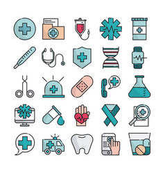 medical health care equipment assistance support vector image