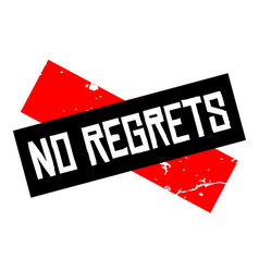 No regrets attention sign vector