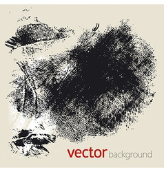 Grunge elements set 1 vector image