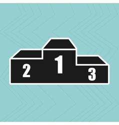 podium winner design vector image