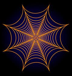 spider web cobweb background vector image vector image