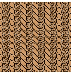 Design seamless vertical wattled pattern vector image