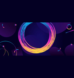 abstract background in modern futuristic style vector image