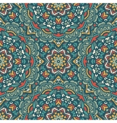 Abstract vintage ethnic seamless pattern design vector image