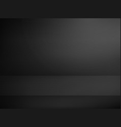 Black illuminated stage advertising template vector