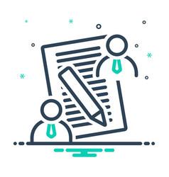 Client brief vector