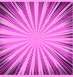 comic page pink dynamic background vector image