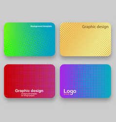 covers design background for a credit card vector image