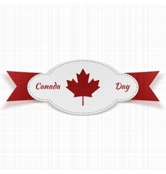 Festive Graphic Element for Canada Day vector image