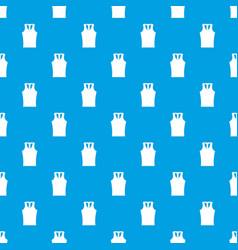 Sleeveless shirt pattern seamless blue vector