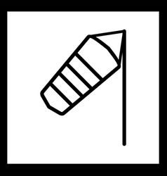 Windy icon vector