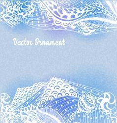 ornaments hand-drawn vector image vector image